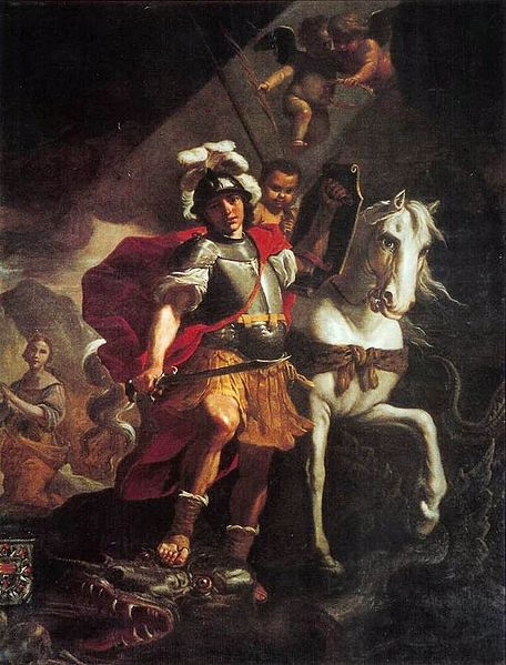 456px-Mattia_Preti_-_St._George_Victorious_over_the_Dragon_-_WGA18398